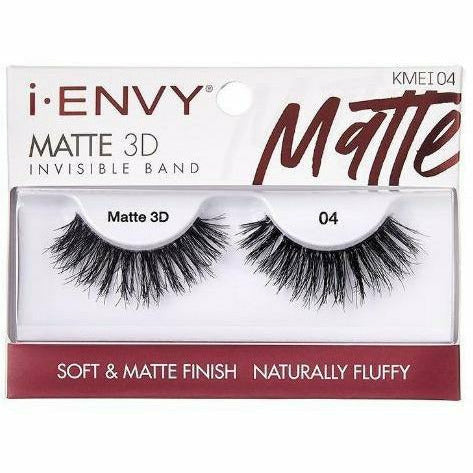 Kiss Cosmetics Kiss: Matte 3D Invisible Band Fluffy Eyelash