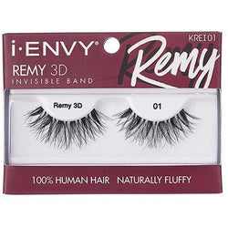 Kiss Cosmetics Kiss: Remy 3D Invisible Band Fluffy Eyelash