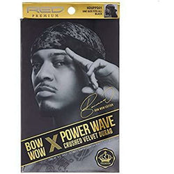 Kiss Hair Accessories Red by Kiss: Power Wave Crushed Velvet Durag