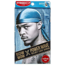 Kiss Hair Accessories Red by Kiss: Power Wave Velvet Luxe Durag
