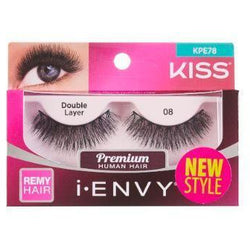 "Kiss Professional eyelashes Kiss i-Envy ""Double Layer"" Remy Eyelashes #KPE78"