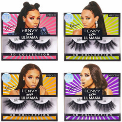 Kiss Professional eyelashes KISS: i-ENVY XOXO Lil Mama 3D Collection Limited Edition