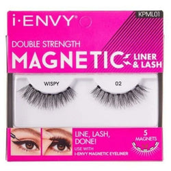 Kiss Professional eyelashes #KPML01 KISS: i-ENVY Double Strength Magnetic Lashes