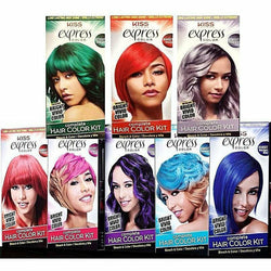 Kiss Professional Hair Color Crimson KISS: Express Color Complete Hair Color Kit