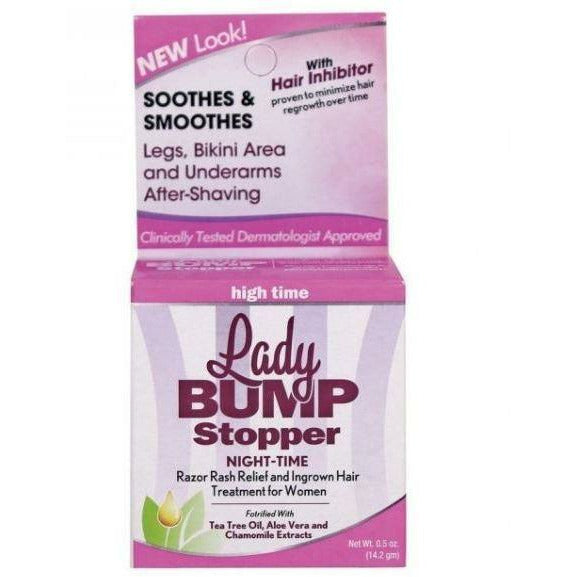 Lady Bump Stopper Body Cream Lady Bump Stopper: Night Time Razor Rash Relief 0.5 oz
