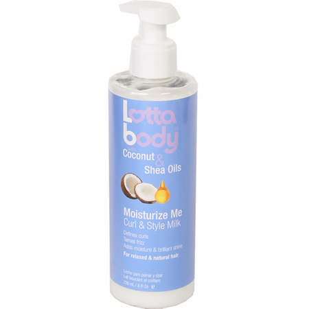LottaBody Hair Care LottaBody: Moisturize Me Curl and Style Milk 8 oz