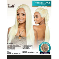 "Mane Concept lace wigs Trill: Whole Lace Front Wig 24"" - Straight"
