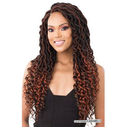Mayde Beauty Crochet Hair Mayde Beauty: 2x Rasta Boho Locs