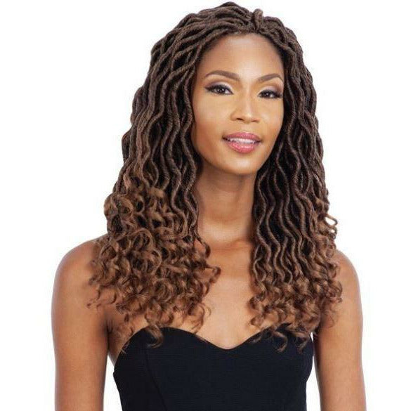MAYDE BEAUTY Crochet Hair MAYDE BEAUTY WAVY GODDESS LOCS 10""