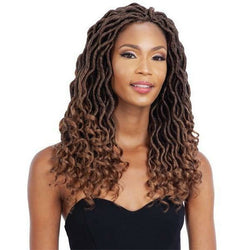 MAYDE BEAUTY Crochet Hair MAYDE BEAUTY WAVY GODDESS LOCS 18""