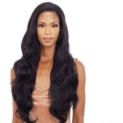 Mayde Beauty lace wigs #1 - Jet Black MAYDE BEAUTY: Synthetic Full Cap Wig - Beach Babe