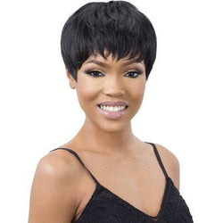 Mayde Beauty lace wigs #1 - Jet Black MAYDE BEAUTY: Synthetic Wig - Aiden