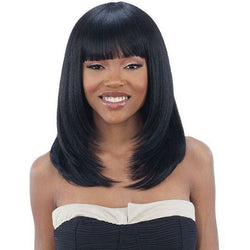 Mayde Beauty lace wigs #1 - Jet Black MAYDE BEAUTY: Synthetic Wig - Aja