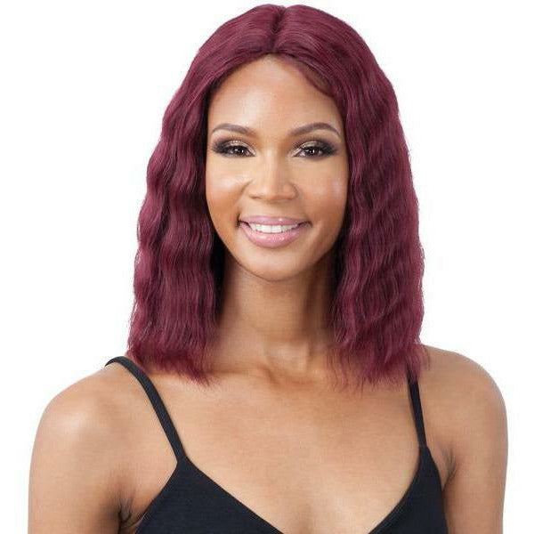 Mayde Beauty lace wigs #530 MAYDE BEAUTY: Human Hair Invisible Lace Part Wig - Nu Wave