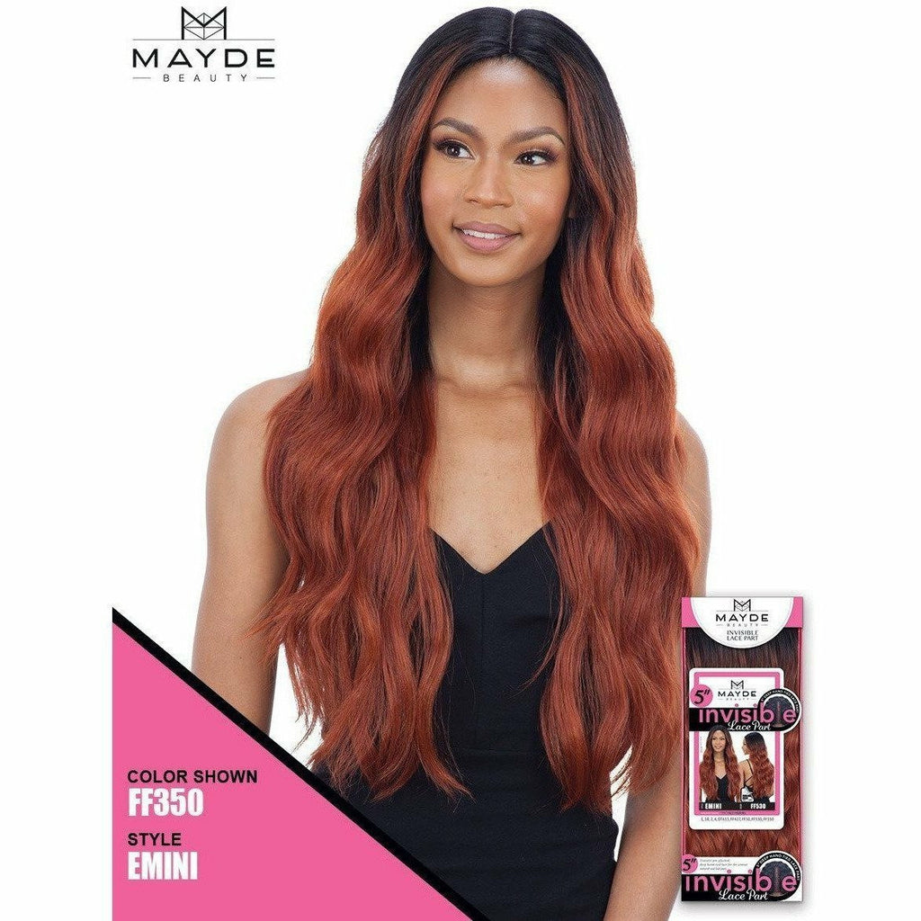 "Mayde Beauty lace wigs MAYDE BEAUTY: 5"" Invisible Lace Part Wig - Emini"