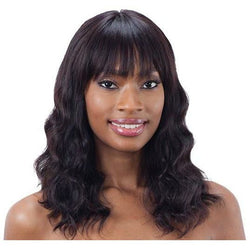 Mayde Beauty lace wigs Mayde Beauty: Deep Bang Frontal Wig - Loose Deep