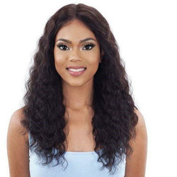 "Mayde Beauty lace wigs MAYDE BEAUTY: Human Hair 5"" Lace and Lace Front Wig - Natural Loose Curl"