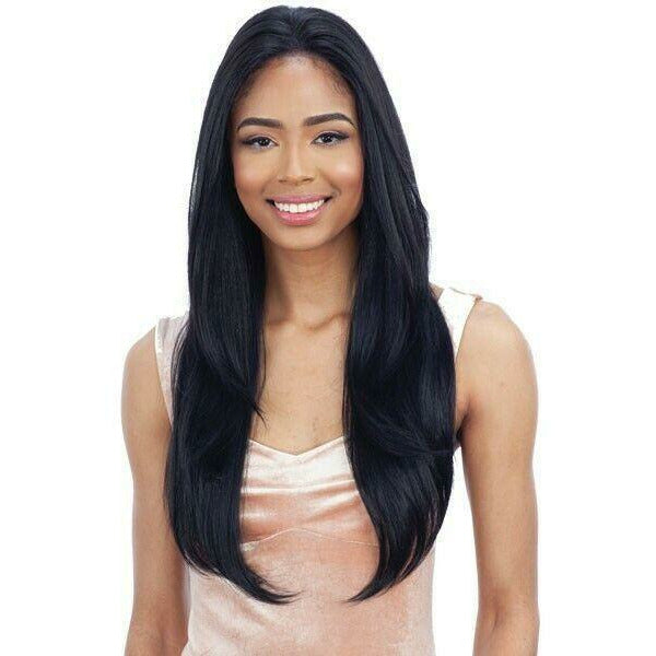 Mayde Beauty lace wigs MAYDE BEAUTY: Synthetic 13x4 Lace Front Wig Whole Lace 001