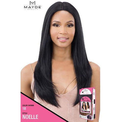 "Mayde Beauty lace wigs MAYDE BEAUTY: Synthetic 5"" Lace and Lace Front Wig - Noelle"