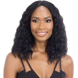 Mayde Beauty lace wigs MAYDE BEAUTY: Synthetic Natural Hairline Lace and Lace Front Wig - Angelina