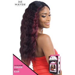 Mayde Beauty lace wigs MAYDE BEAUTY: Synthetic Natural Hairline Lace and Lace Front Wig - Blair