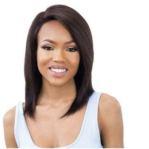 "Mayde Beauty lace wigs #NATURAL / #14"" MAYDE BEAUTY: It Girl 100% Virgin Human Hair Lace Front Wig Jourdan 14"""