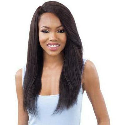 "Mayde Beauty lace wigs #NATURAL / #22"" MAYDE BEAUTY: It Girl 100% Virgin Human Hair Lace Front Wig Jourdan 22"""