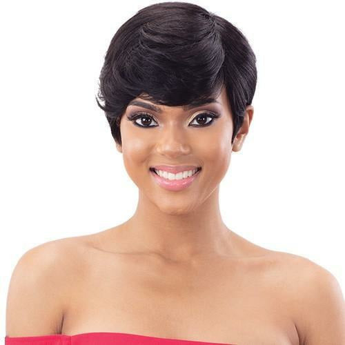 Mayde Beauty lace wigs #NATURALDK MAYDE BEAUTY: 100% Human Hair Wig - Carmen