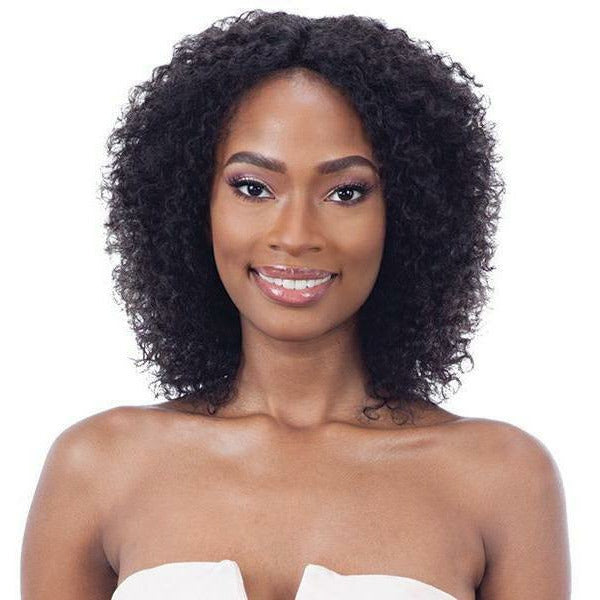 Mayde lace wigs Mayde: Wet & Wavy 100% Human Hair Invisible Lace Part Wig - Bohemian Curl