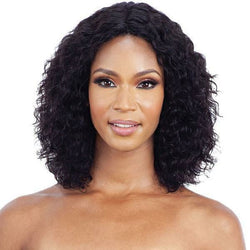 Mayde lace wigs Mayde: Wet & Wavy 100% Human Hair Invisible Lace Part Wig - Loose Deep