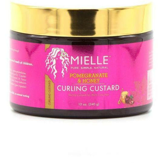 Mielle Organics Hair Butters, Puddings, & Custards Mielle Organics: Pomegranate & Honey Curling Custard 12oz