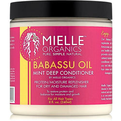 Mielle Organics Styling Product Babassu Oil & Mint Deep Conditioner 8oz