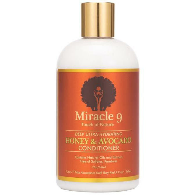 Miracle 9 Hair Care MIRACLE 9: Deep Ultra-Hydrating Honey & Avocado Conditioner 12oz