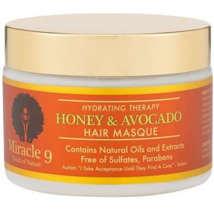 Miracle 9 Hair Care MIRACLE 9: Hydrating Therapy Honey & Avocado Hair Masque