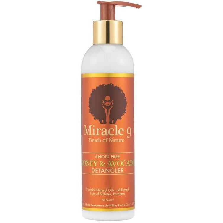 Miracle 9 Hair Care MIRACLE 9: Knots Free Honey & Avocado Detangler 8oz