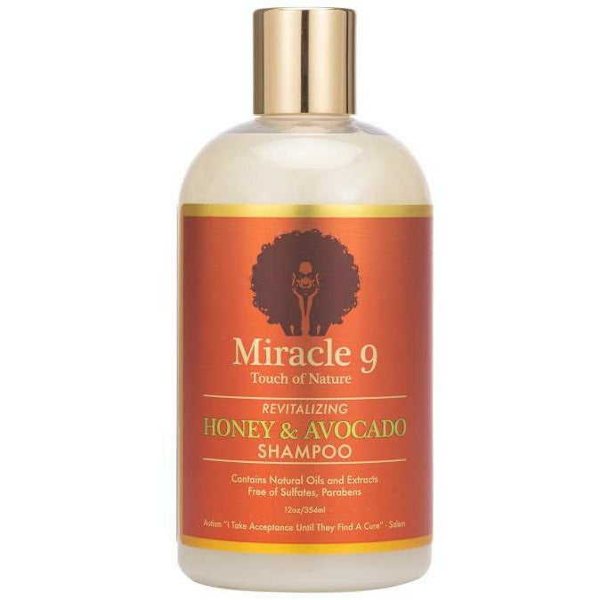 Miracle 9 Shampoo MIRACLE 9: Revitalizing Honey & Avocado Shampoo 12oz