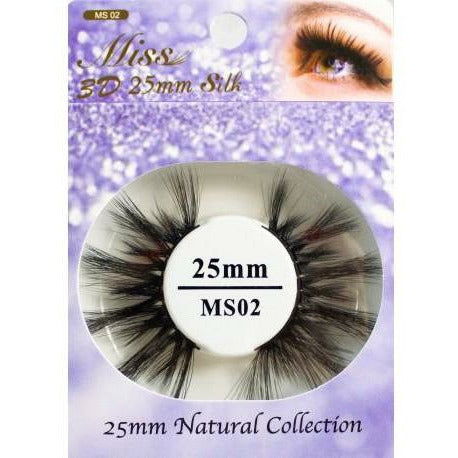 Miss Lash eyelashes #MS02 Miss Lash: 3D 25mm Silk Lash