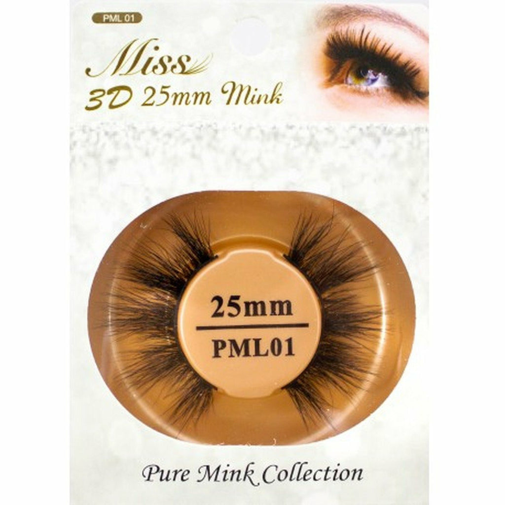 Miss Lash eyelashes #PML01 Miss Lash: 3D 25mm Mink Lash