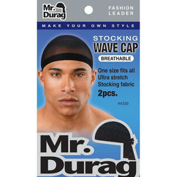 Mr. Durag Hair Accessories Mr. Durag: Stocking Wave Cap #4330