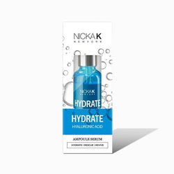 Nicka K Cosmetics Hydrate - Hyaluronic Acid Nickak: Ampoule Serum 1oz