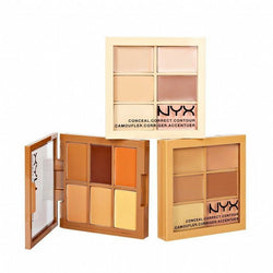NYX Cosmetics Light NYX 3C Conceal Correct Contour Palette