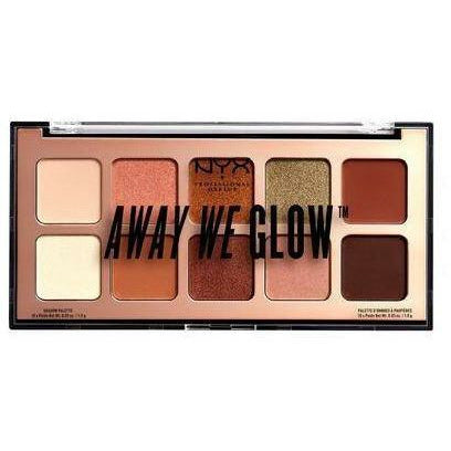 NYX Cosmetics NYX AWAY WE GLOW- HOOKED ON GLOW PALETTE