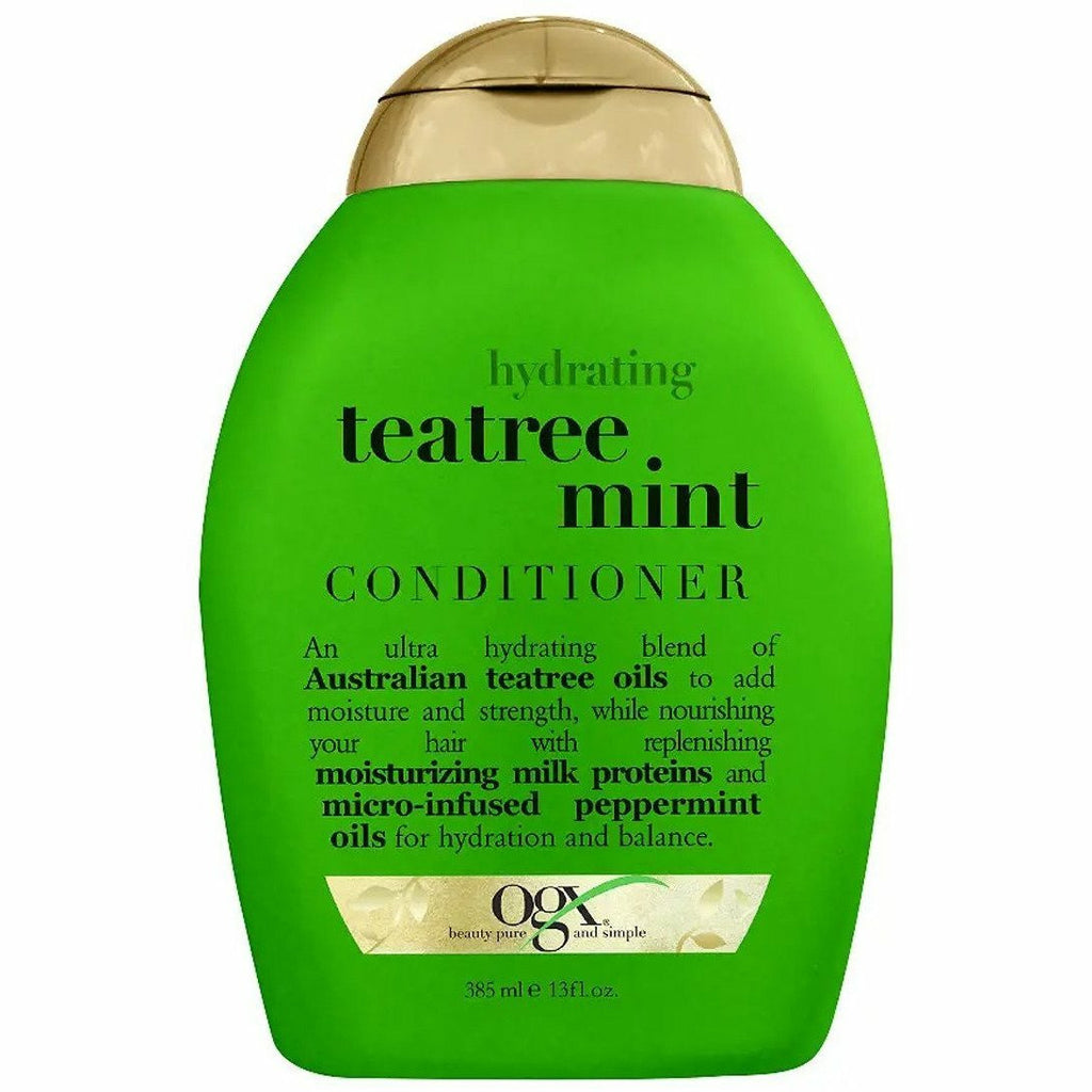 OGX Hair Care OGX: Hydrating Teatree Mint Conditioner 13oz