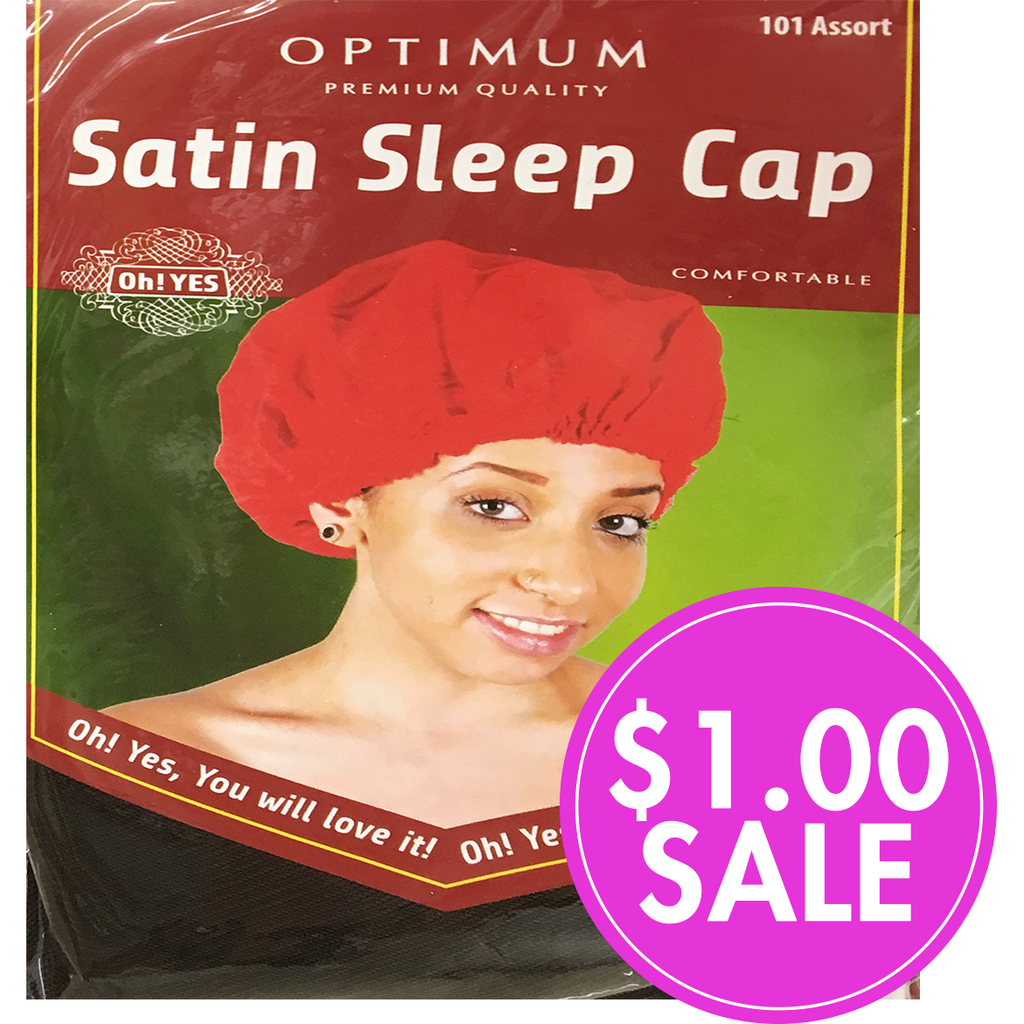 OH! YES Hair Accessories Oh! Yes: Optimum Satin Sleep Cap