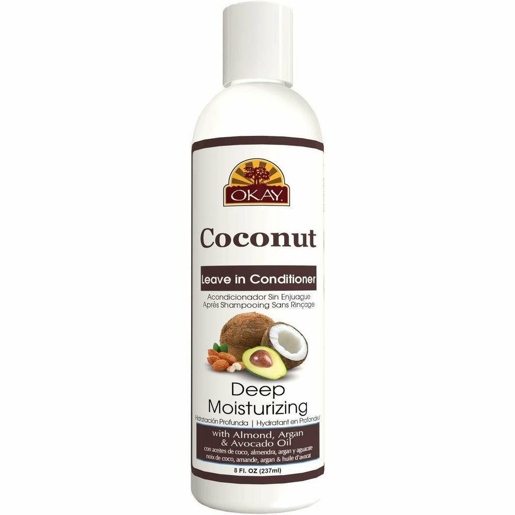 Okay Hair Care OKAY: Coconut Deep Moisterizing Leave-In Conditioner 8oz