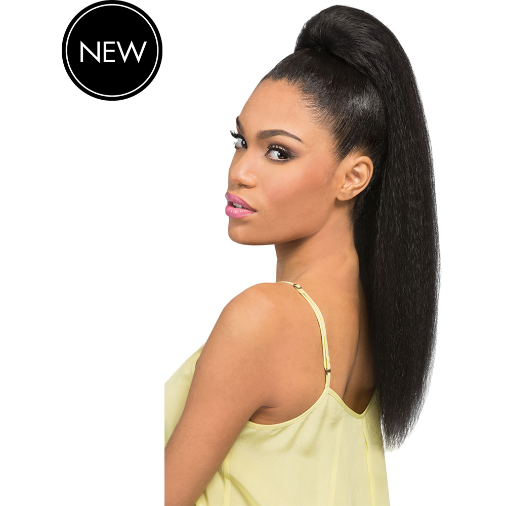 Outre Drawstring Ponytails #1 - Black Outre Timeless Ponytail: Tess