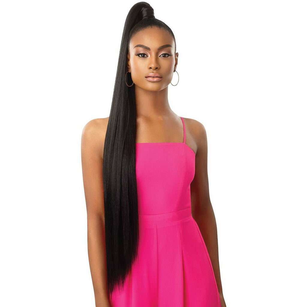 Outre Drawstring Ponytails Outre: Pretty Quick Sleek Straight 36""