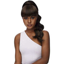 Outre Drawstring Ponytails Outre: Synthetic Bang x Pony - Kayla