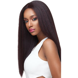 Outre lace wigs #1 Outre Synthetic SWISS X 4 Way Part Lace Front Wig Vixen Blow-Out Straight
