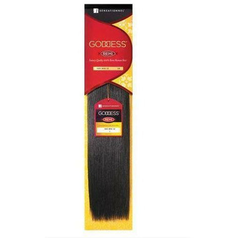 "Outre Weaving Hair #1 / 12"" Sensationnel Goddess <br> 100% Human Remi Hair"